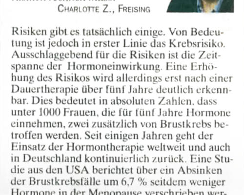 TZ-München - Achtung Hormone