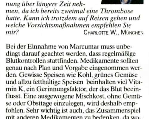 TZ-München - Blutverdünner