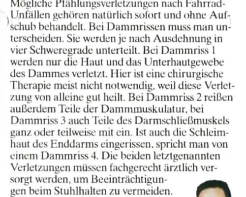 TZ-München - Dammriss