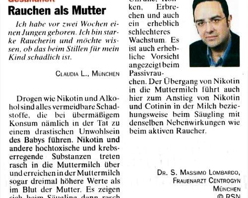TZ-München - Rauchen als Mutter