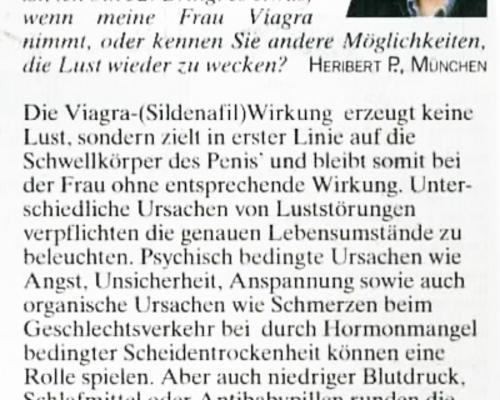 TZ-München - Viagra für Frauen