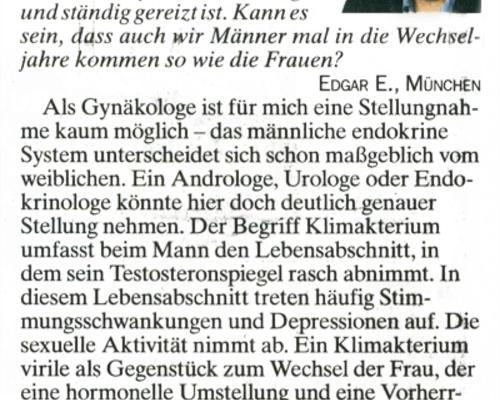 TZ-München - Wechsel beim Mann
