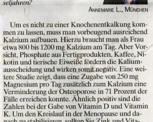 TZ-München - Wechseljahre 2